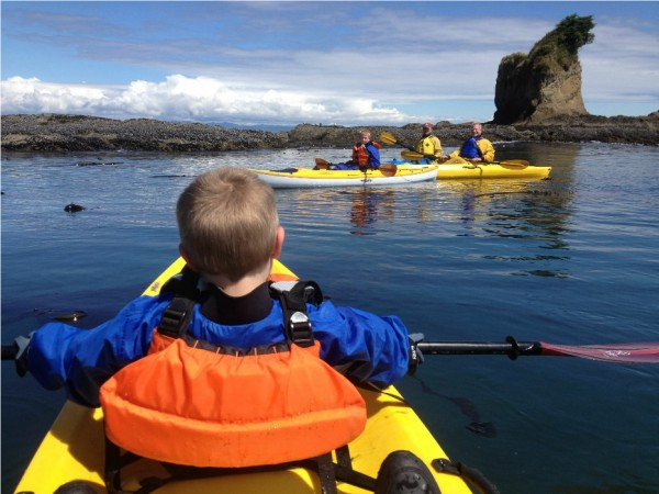 Sea Kayaking near Port Angeles